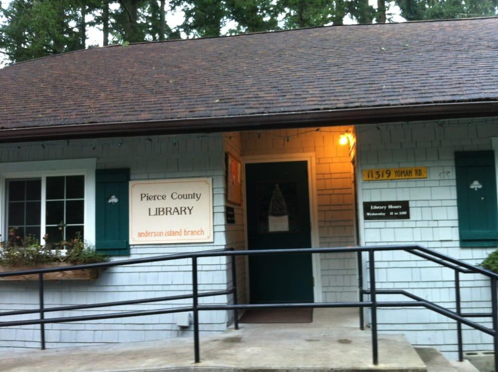 Pierce County Library-Anderson Island: 11319 Yoman Rd, Anderson Island, WA
