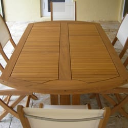Great Photo Of Teak Furniture Refinishing   Delray Beach, FL, United States ...