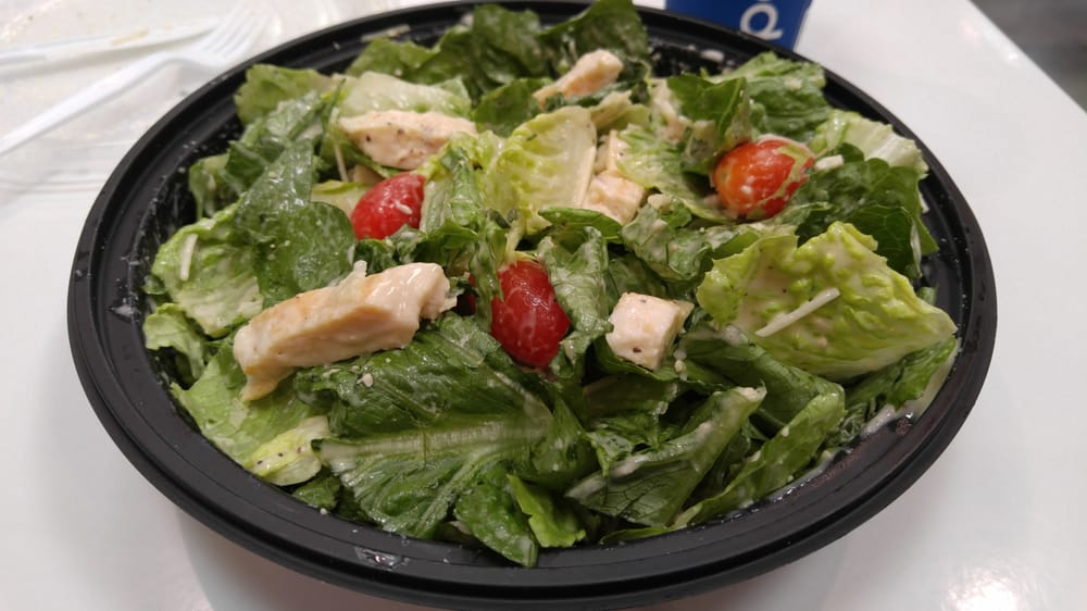 love the $3 99 chicken Caesar salad at Costco fast food wish