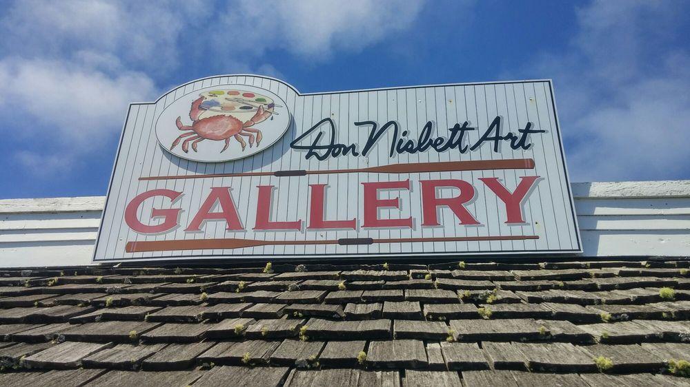 Don Nisbett's Crew House Gallery: 167 Howerton Way, Ilwaco, WA
