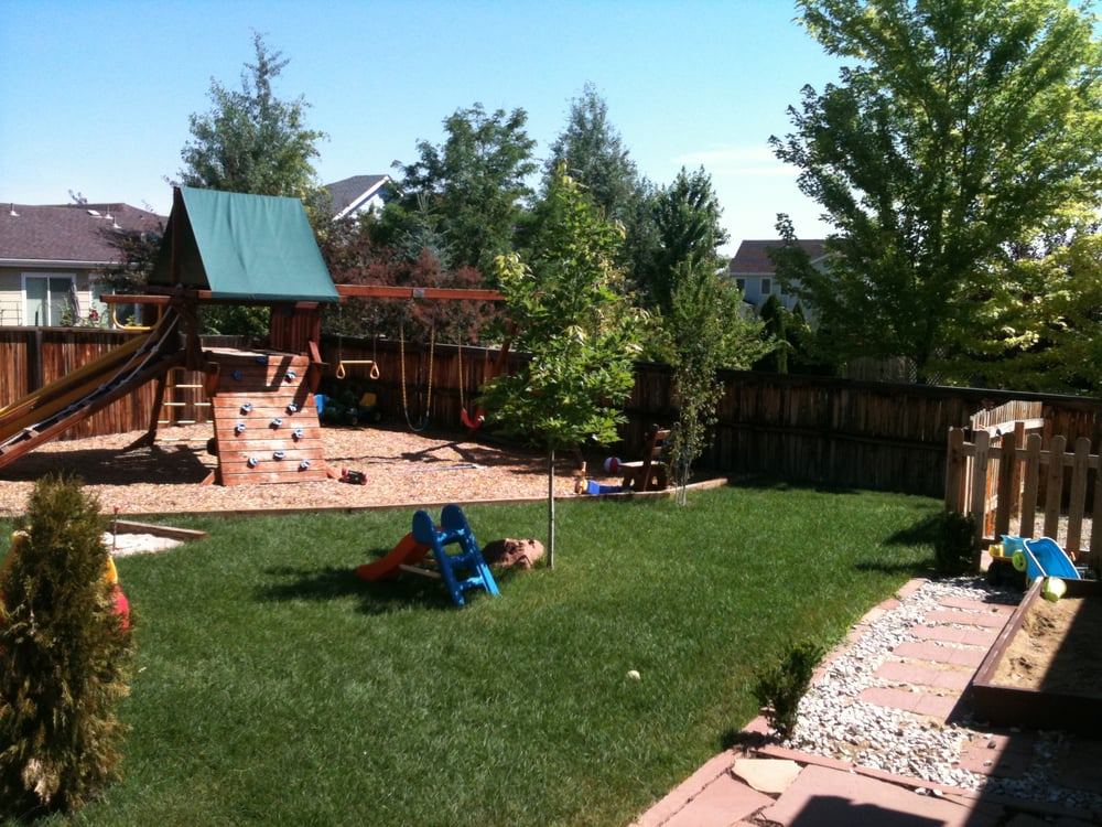 Sand For Backyard large fenced backyard. playground, sand box and tons of grass! - yelp