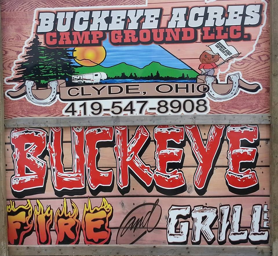 Buckeye Acres Campground: 972 County Rd 278, Clyde, OH