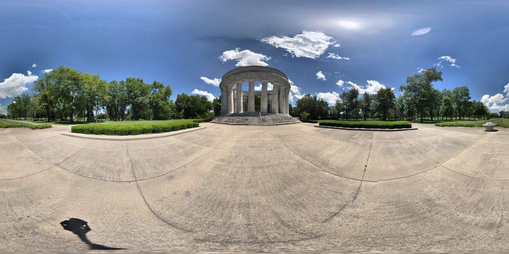 Harding Memorial: Delaware Ave & Vernon Heights Blvd, Marion, OH