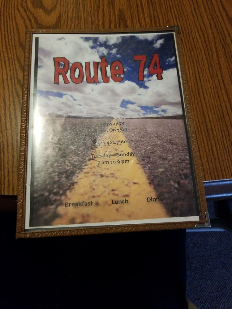 Route 74: 350 Hwy 74, Ione, OR