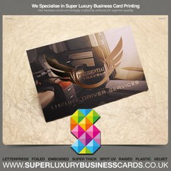 Super luxury business cards get quote 26 photos printing photo of super luxury business cards manchester united kingdom printed luxury business cards colourmoves
