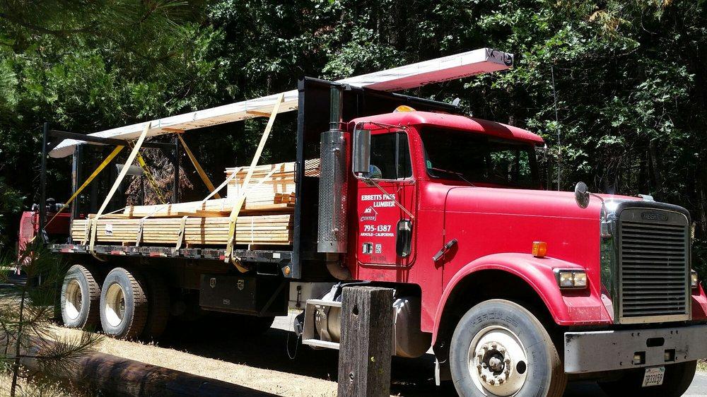 Ebbetts Pass Lumber - Ace Contractors Center: 1495 Linebaugh Rd, Arnold, CA