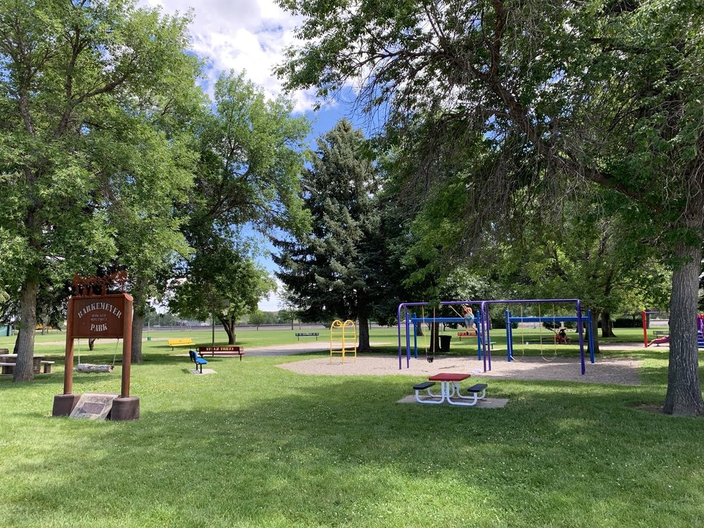 Barkmeyer Park: 117 Northern Ave, Huntley, MT