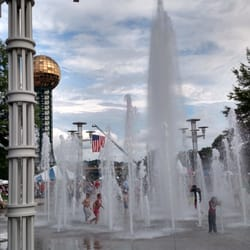 photo of worlds fair park festival center knoxville tn united states