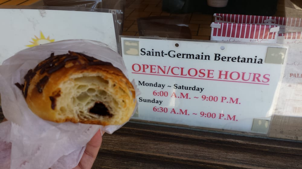chocolate croissant and store hours yelp. Black Bedroom Furniture Sets. Home Design Ideas
