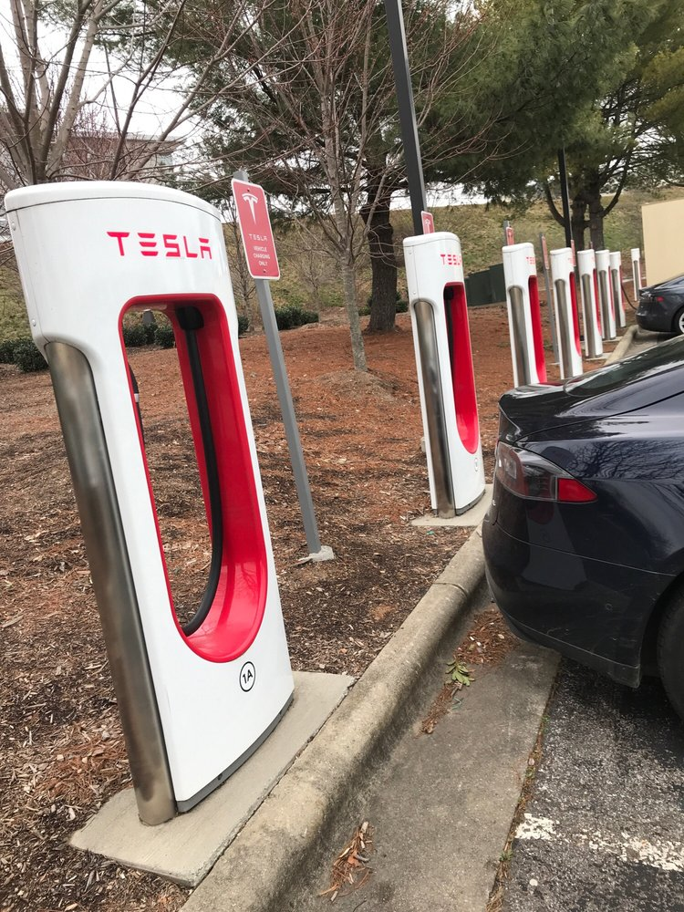 Tesla Supercharger: 800 Brevard Rd, Asheville, NC