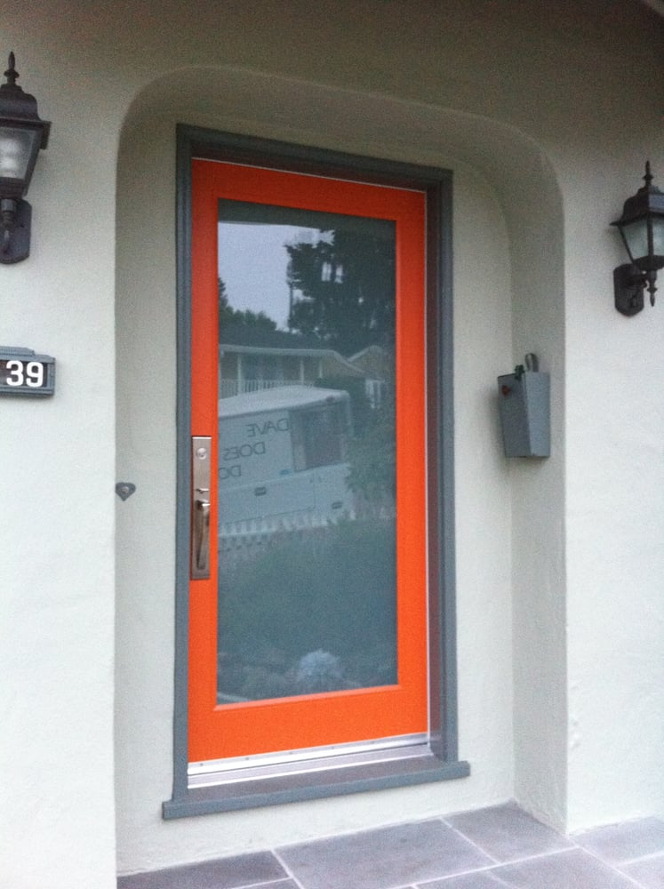 Lami Glass Entry Door Lets In Light But You Can 39 T See Anything Or Anybody On The Opposite Side