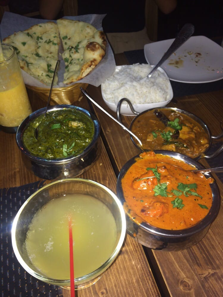 3 different chicken curry flavors kokum tadi fling strong lassi yelp - Different indian cuisines ...