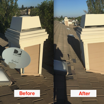 Photo Of Satellite Dish Removal Guy Dana Point Ca United States Great