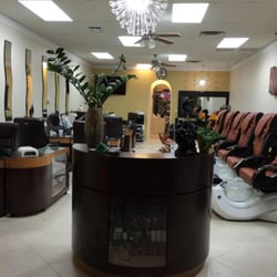 Above and beyond nails 21 reviews nail salons 4707 e for Above and beyond beauty salon