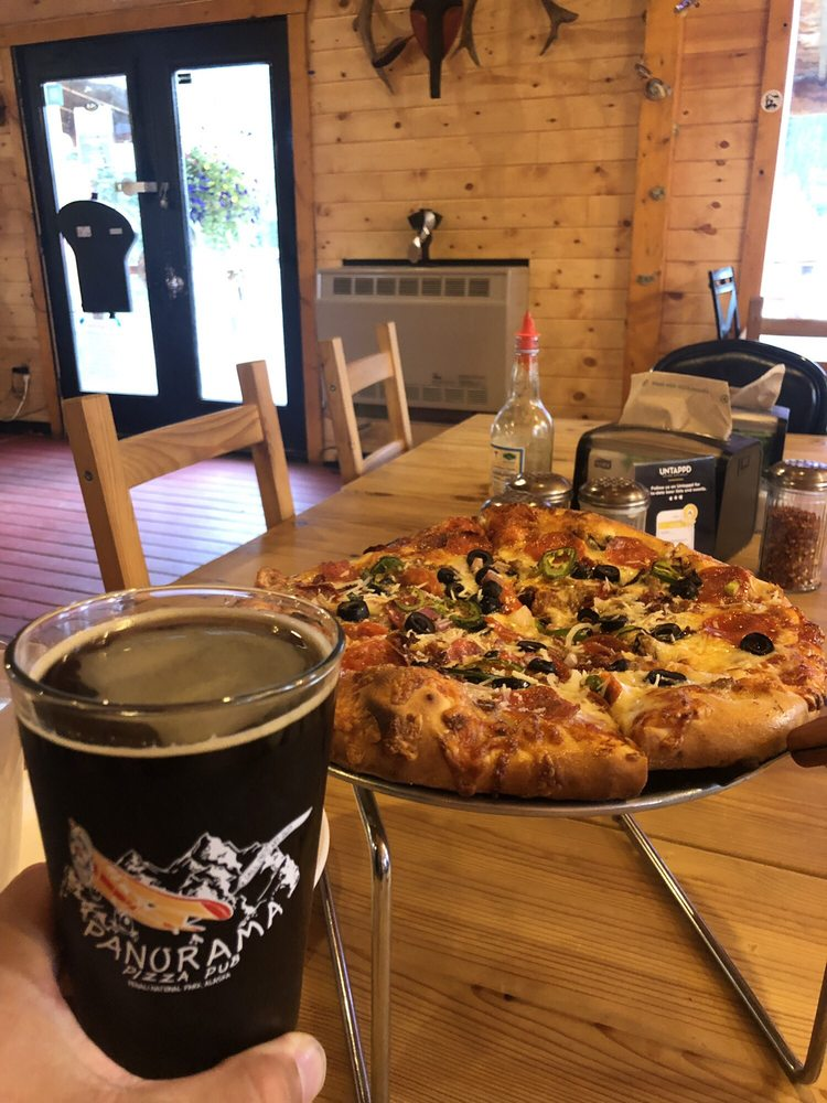 Panorama Pizza Pub: Mile 224 Parks Hwy, Healy, AK