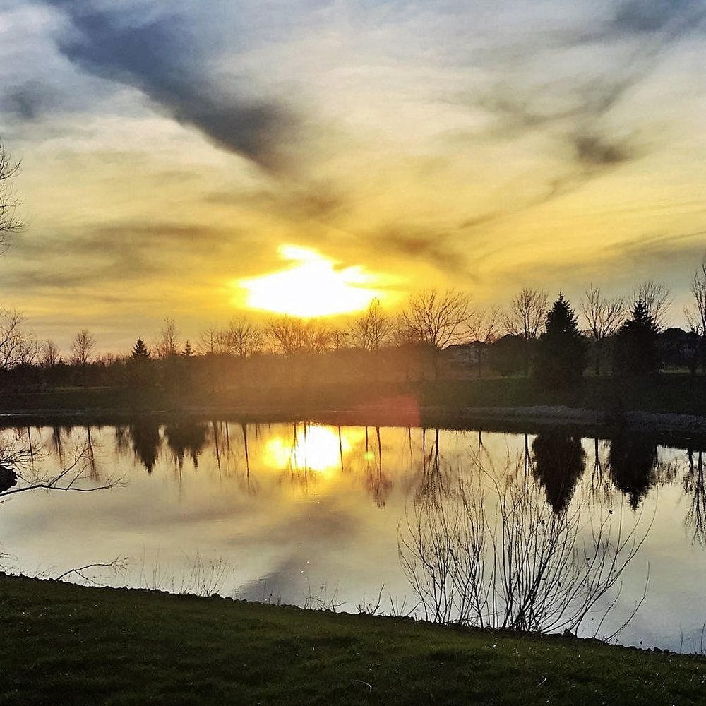 Sunset Lake Apartments: Beautiful Sunset At Farmington Lakes Apartments