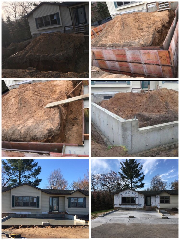 Five Star Concrete & Excavation: S1775 Stevens Ct, Wisconsin Dells, WI