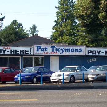 Pat Twyman S Car Lot