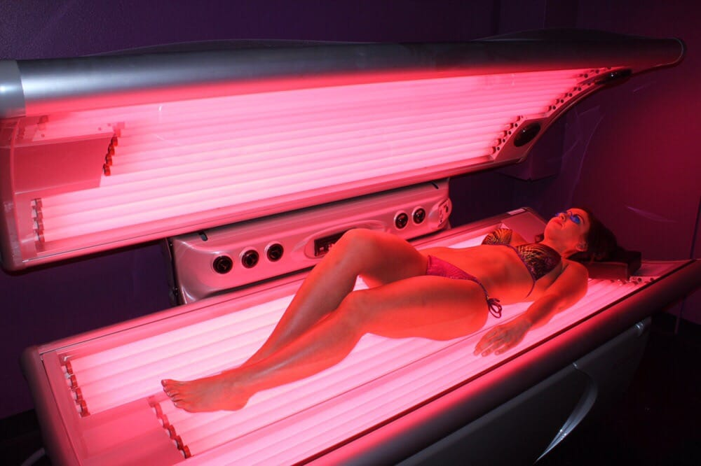 Red Light Therapy Lay Down Helps Reduce Cellulite