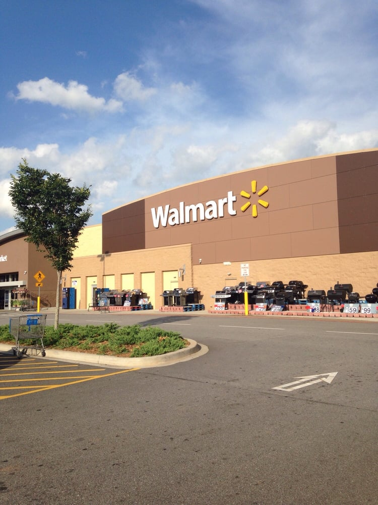 Walmart Supercenter: 11410 Anderson Rd, Greenville, SC