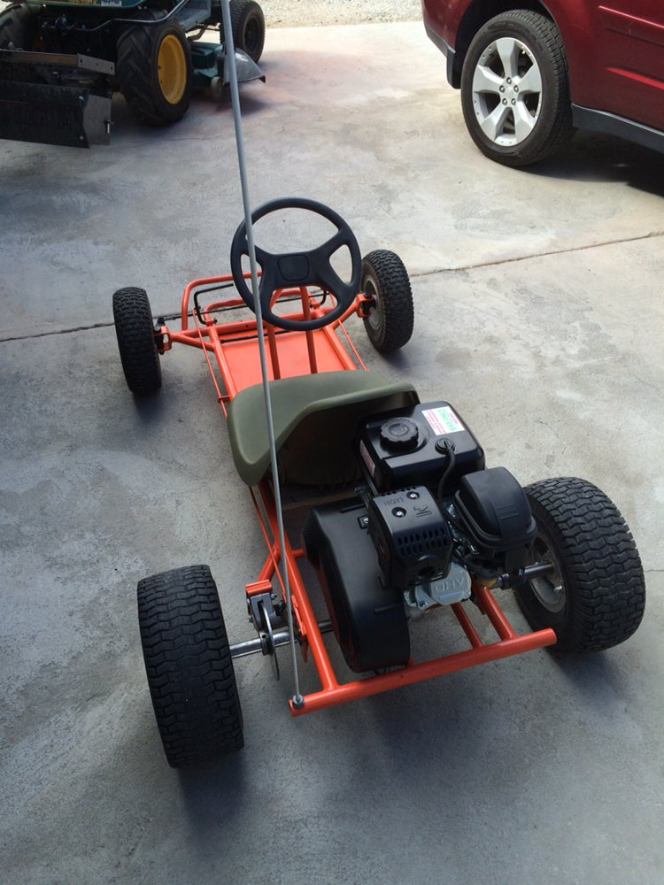 Go Kart build (after photo) S S E Customs - Yelp