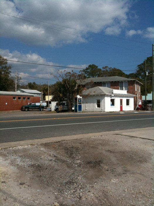 World's Smallest Police Station: 105 St James Ave, Carrabelle, FL