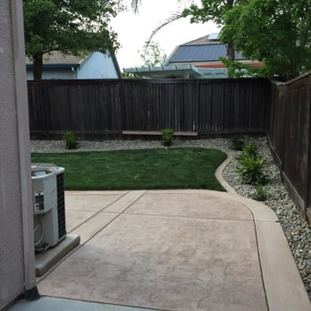 Photo Of Nt Landscaping Service Elk Grove Ca United States After