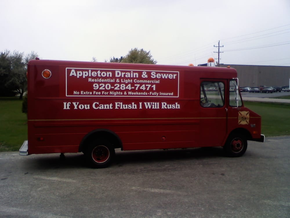Appleton Drain & Sewer Cleaning: 2319 S Greenview St, Appleton, WI