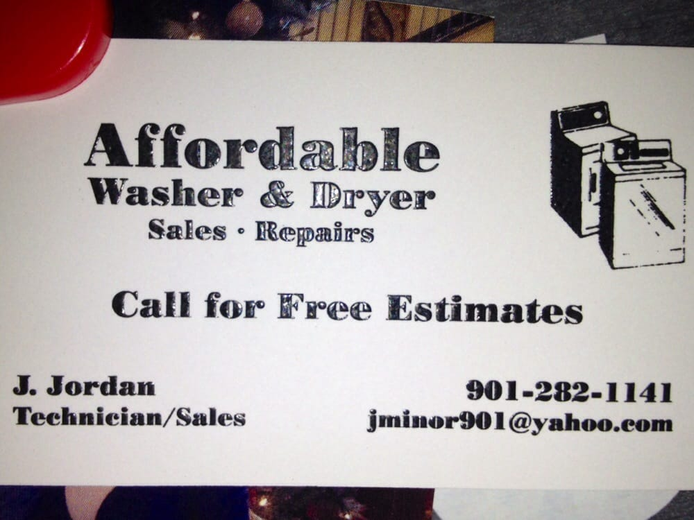 Affordable Washer & Dryer Sales and Repair
