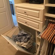 This Closet Has Photo Of Affordable Custom Closets   Naples, FL, United  States. Tilt Hamper With ...
