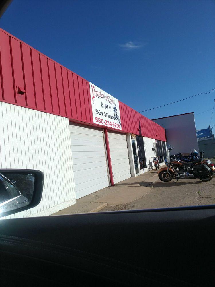 Preston's Cycle & ATV: 1314 N Grand St, Enid, OK