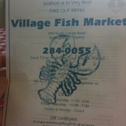 Village fish market closed seafood markets 894 n for Village fish market