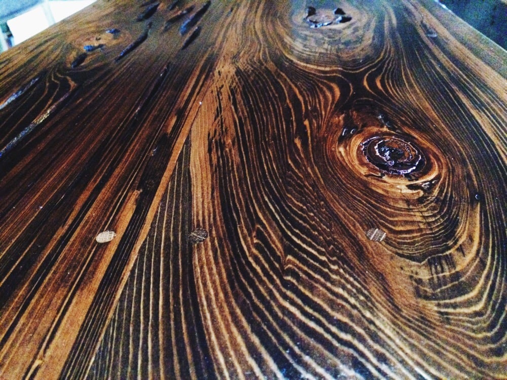 Photo Of Landrum Tables   Charleston, SC, United States. Pecky Cypress Table  Top