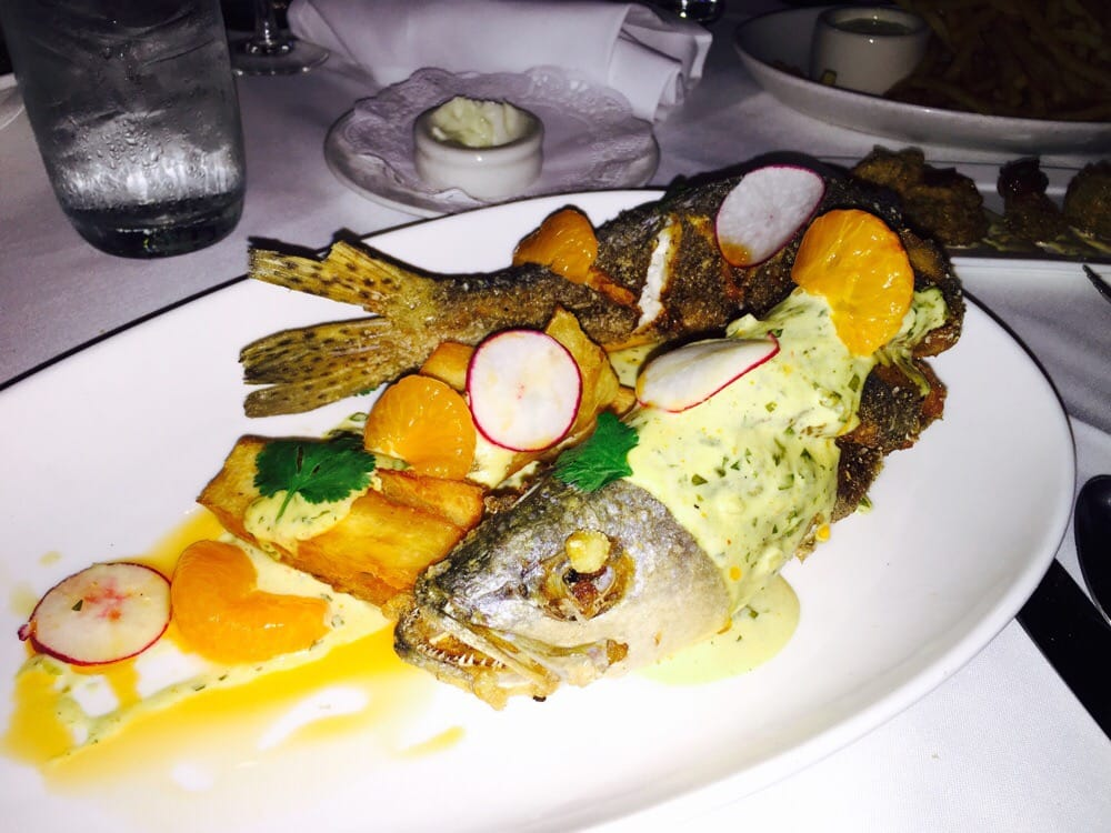 Whole fried fish with satsumas and satsuma mojo best for Best fried fish near me