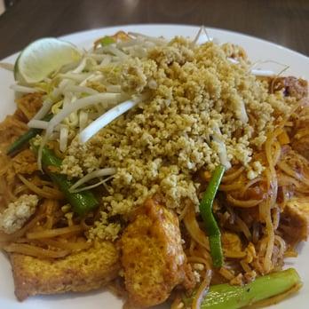 Asian menu bistro ginger red