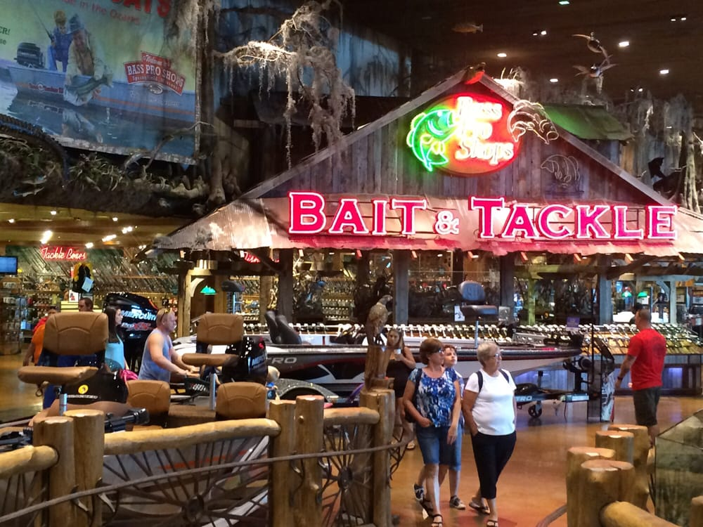All the fishing gear you 39 ll ever need yelp for Bass pro shop fishing