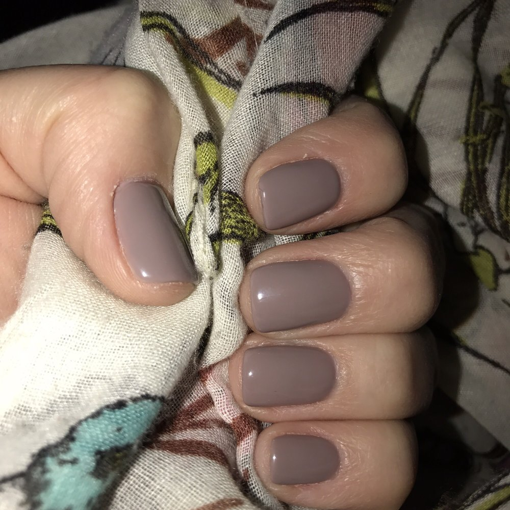 SNS dip powder with OPI gel polish in Taupe-less Beach - recommended ...