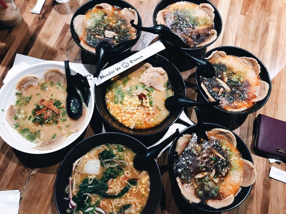 Food from Menkoi Ya Ramen
