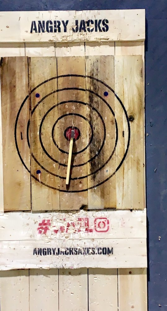 Angry Jack's Axe Throwing Club: 15 E Uwchlan Ave, Exton, PA