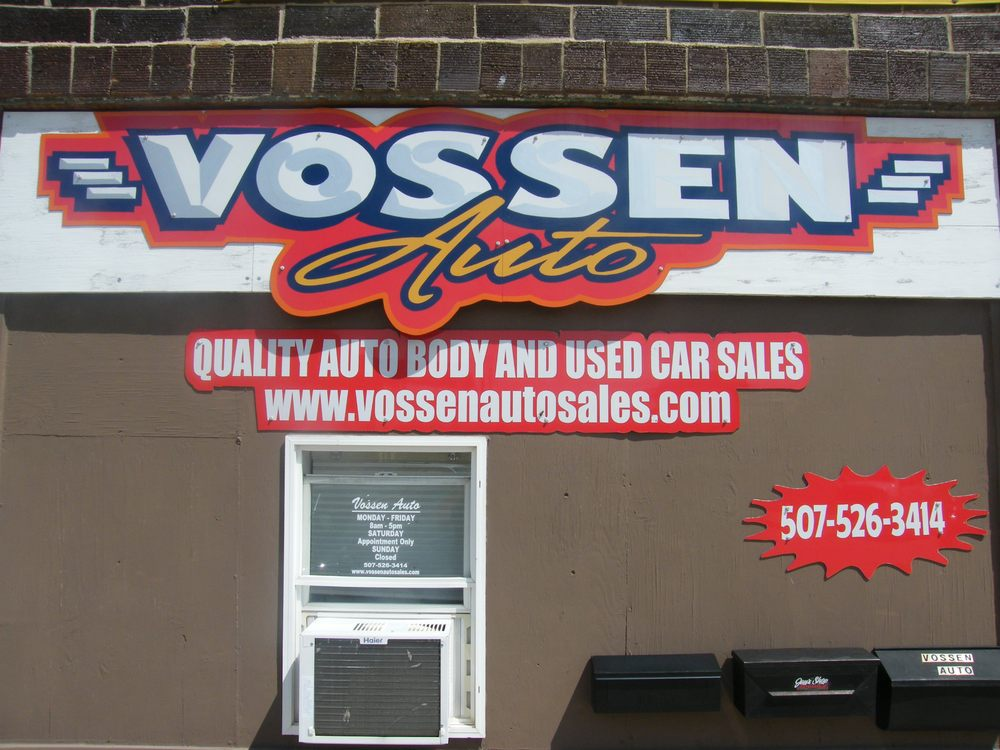 Vossen Auto: 202 N Main St, Blue Earth, MN