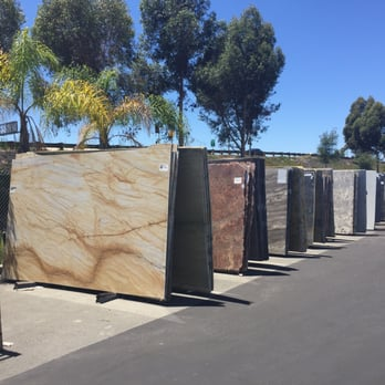 Photo Of Granix Stone San Marcos Ca United States Larger Slabs Outside