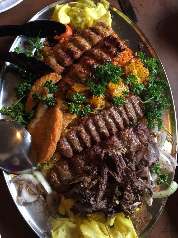 Platter for 2 yum yelp for Ali baba mediterranean cuisine