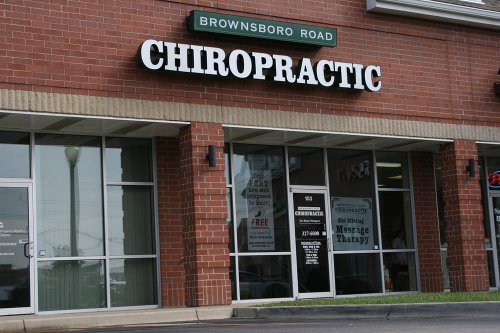 Brownsboro Road Chiropractic: 9811 Brownsboro Rd, Louisville, KY