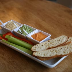 photo of magnolia wine kitchen des moines ia united states humus trio - Magnolia Wine Kitchen