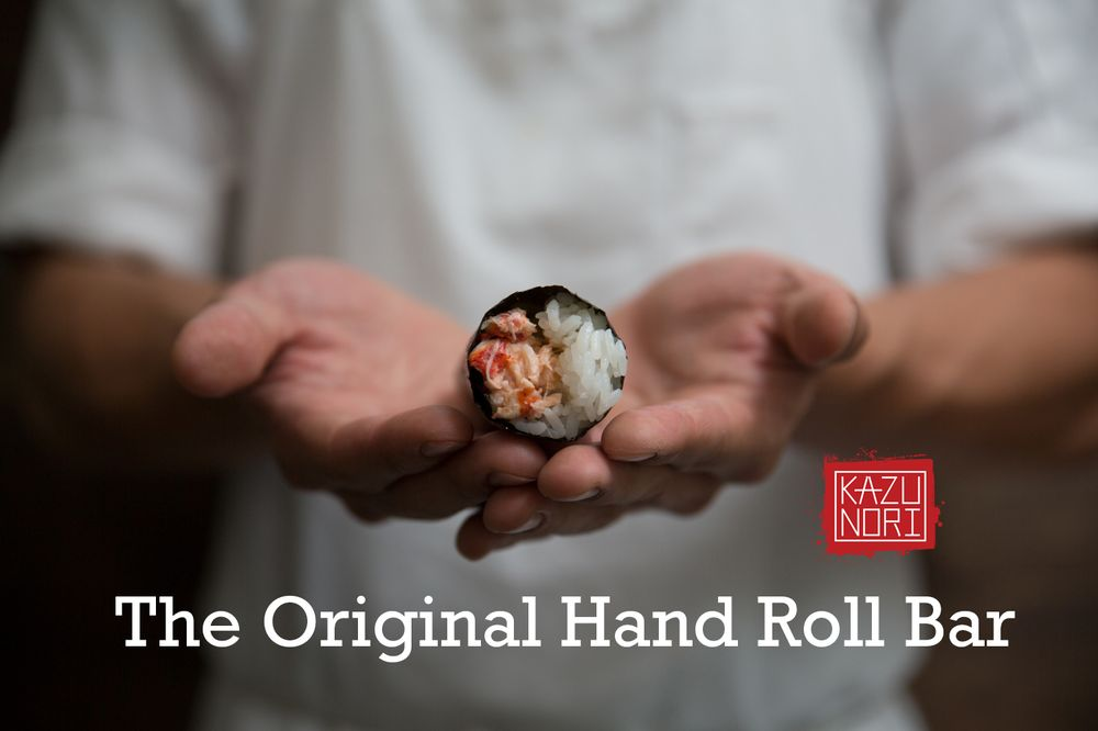 Food from KazuNori: The Original Hand Roll Bar