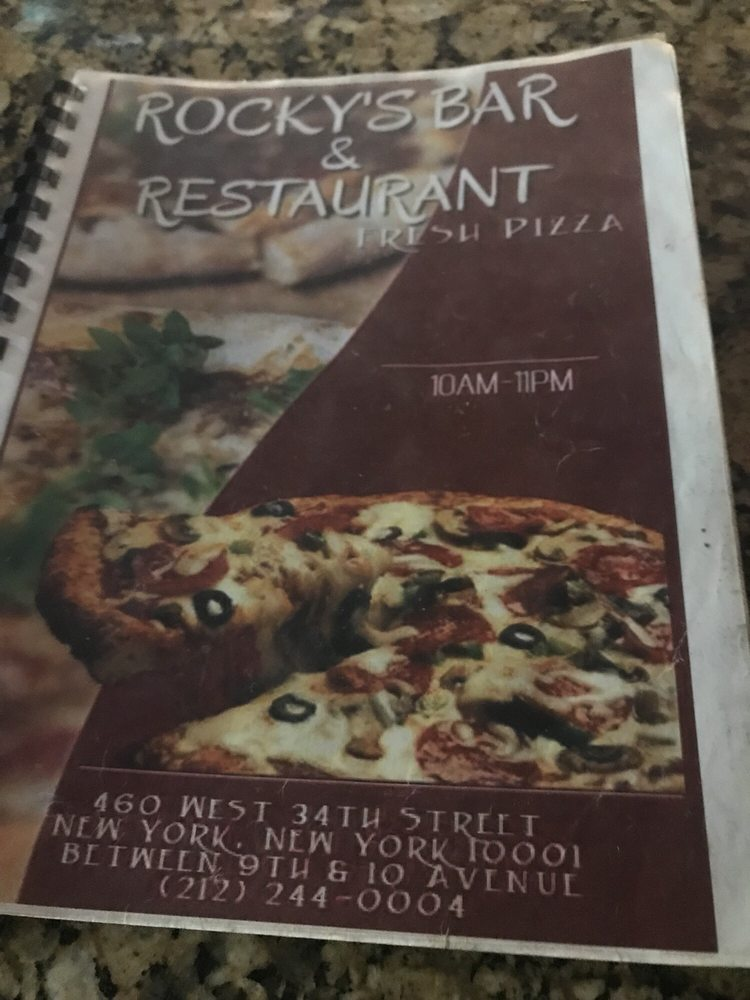 Rocky's Pizza Bar and Restaurant - Order Food Online - 73