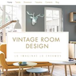Vintage Room Desgin Dise O De Interiores Av M Xico