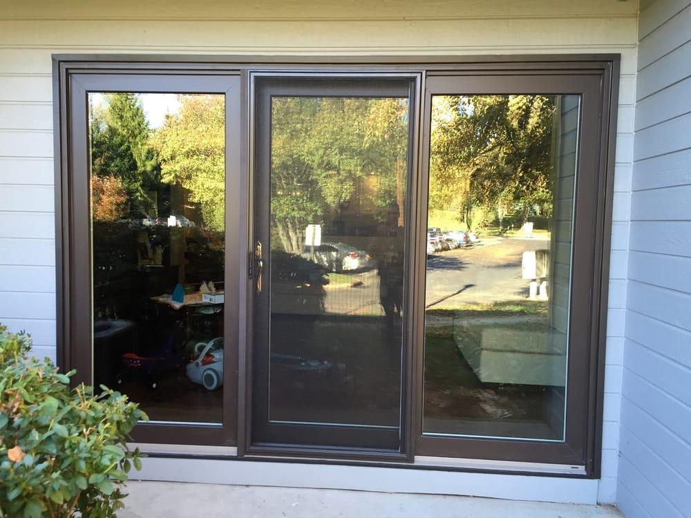 Superbe New 9 Foot Dark Bronze Sliding Door. Very Energy Efficient ...