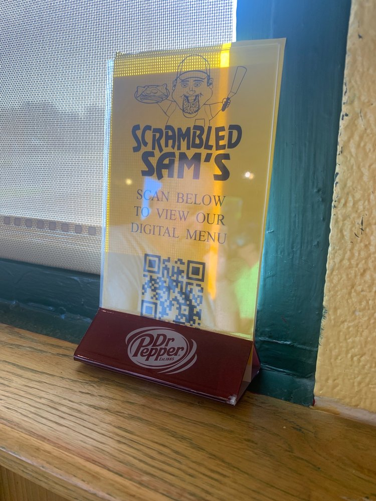 Scrambled Sam's: 802 W Main St, Lyons, KS