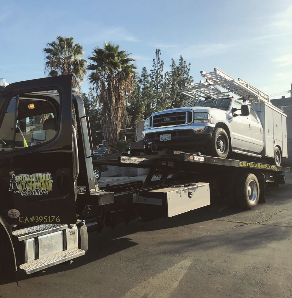 Towing Solutions: 22180 Cajalco Rd, Perris, CA